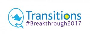 Conference logo: Transitions #Breakthrough2017